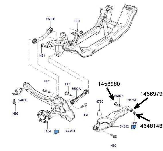 Замена заднего сайлентблока продольного рычага форд фокус 2