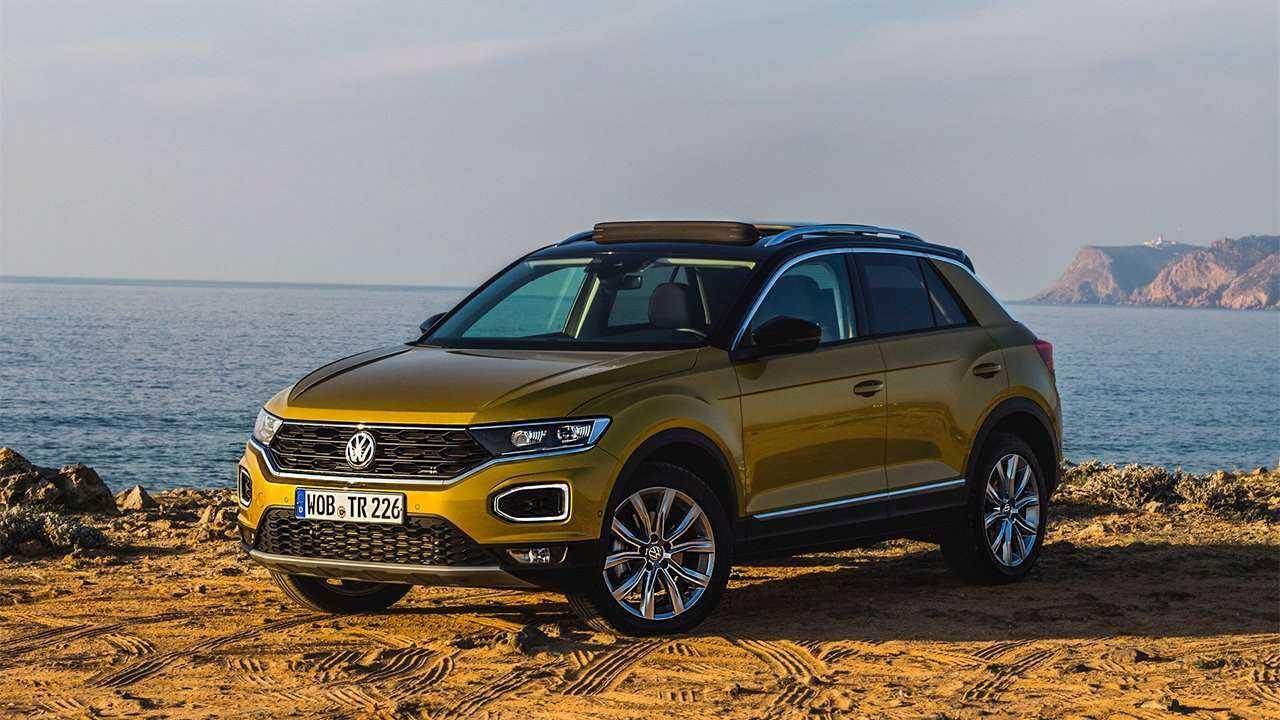 Volkswagen t-roc 2018 года с высокой степенью унификации