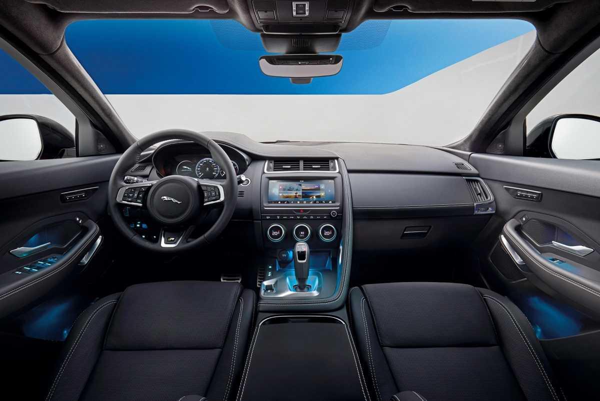 Jaguar e-pace 2.0 t at awd s (11.2018 - н.в.) - технические характеристики