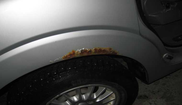 Убрать ржавчину с кузова автомобиля: самые эффектные методы удаления дефектов своими руками