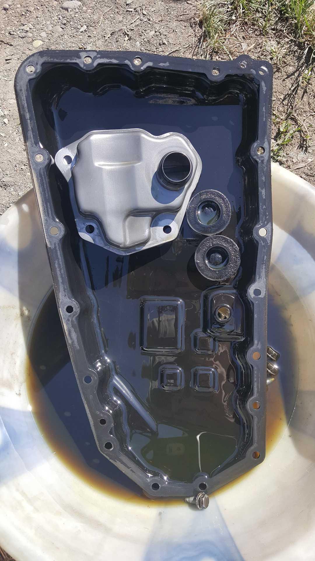 Замену масла в вариаторе митсубиси аутлендер 3 делать нужно