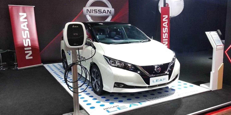 Nissan leaf 2018, 2 поколение, самый популярный электромобиль