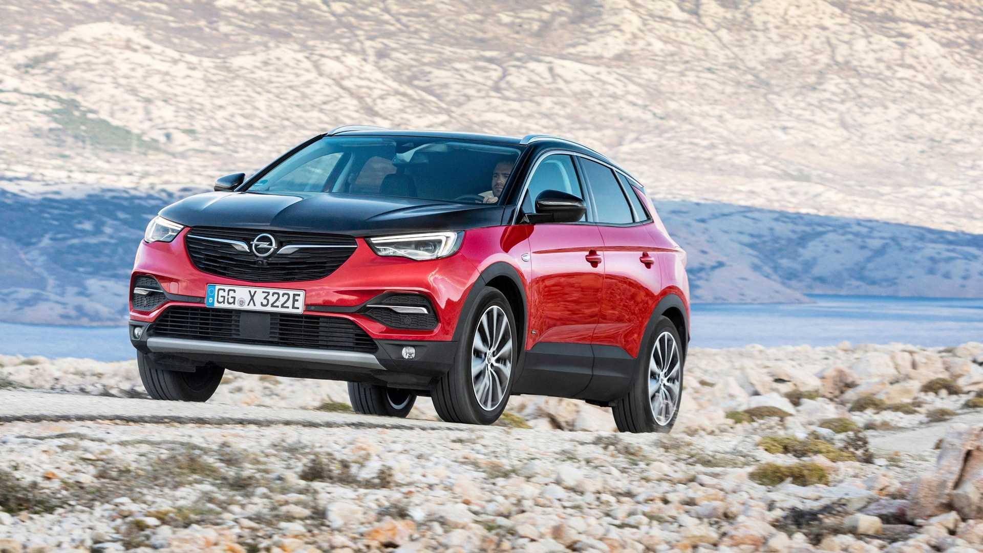 Opel grandland x hybrid4 2019 – гибридный вариант грандланд х