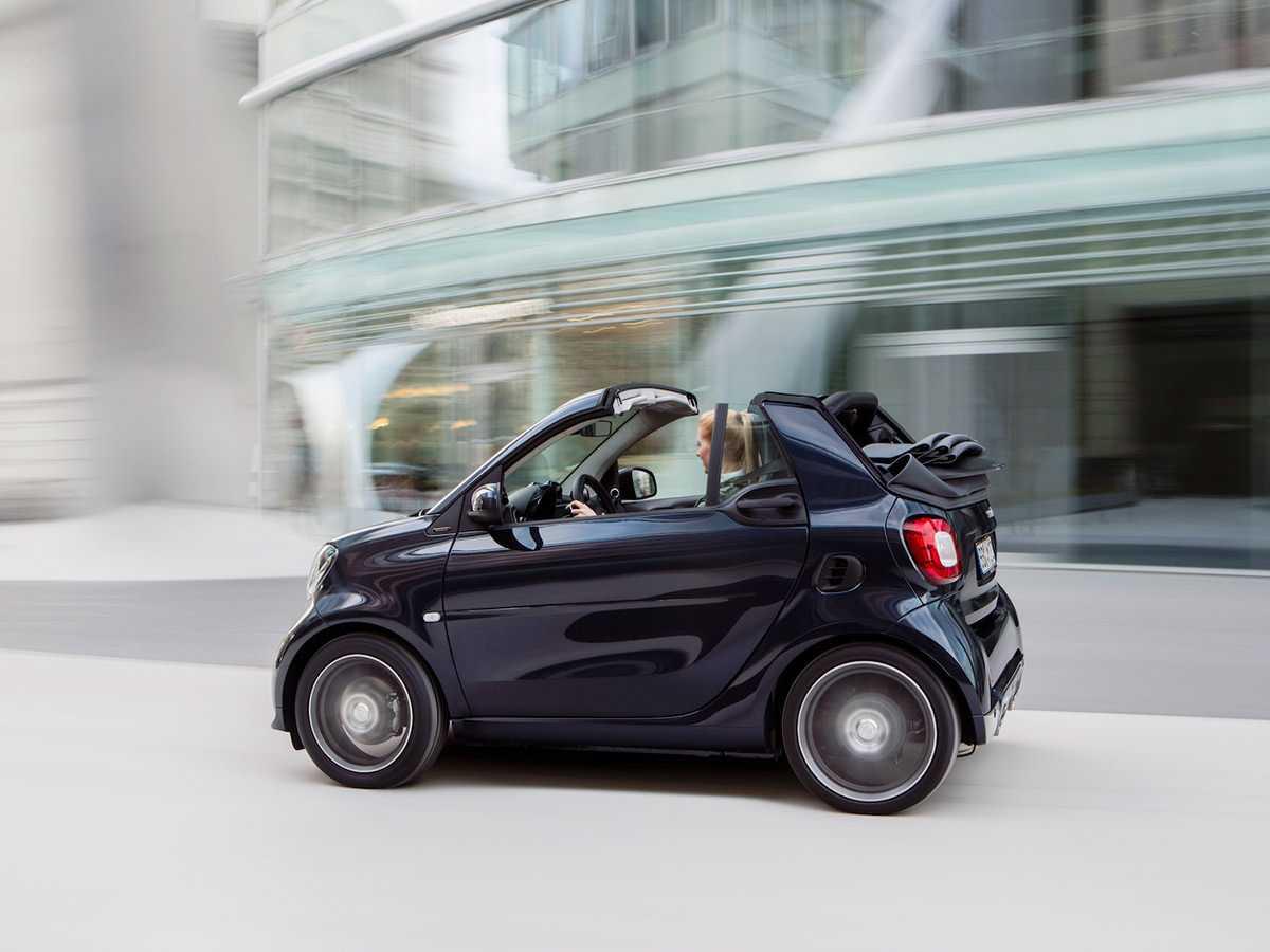 Smart fortwo получил матерчатый верх - «автоновости» » авто - новости