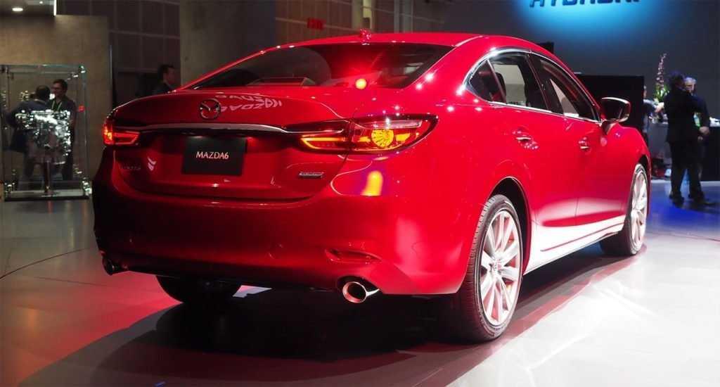 Mazda 6 2019 года после рестайлинга