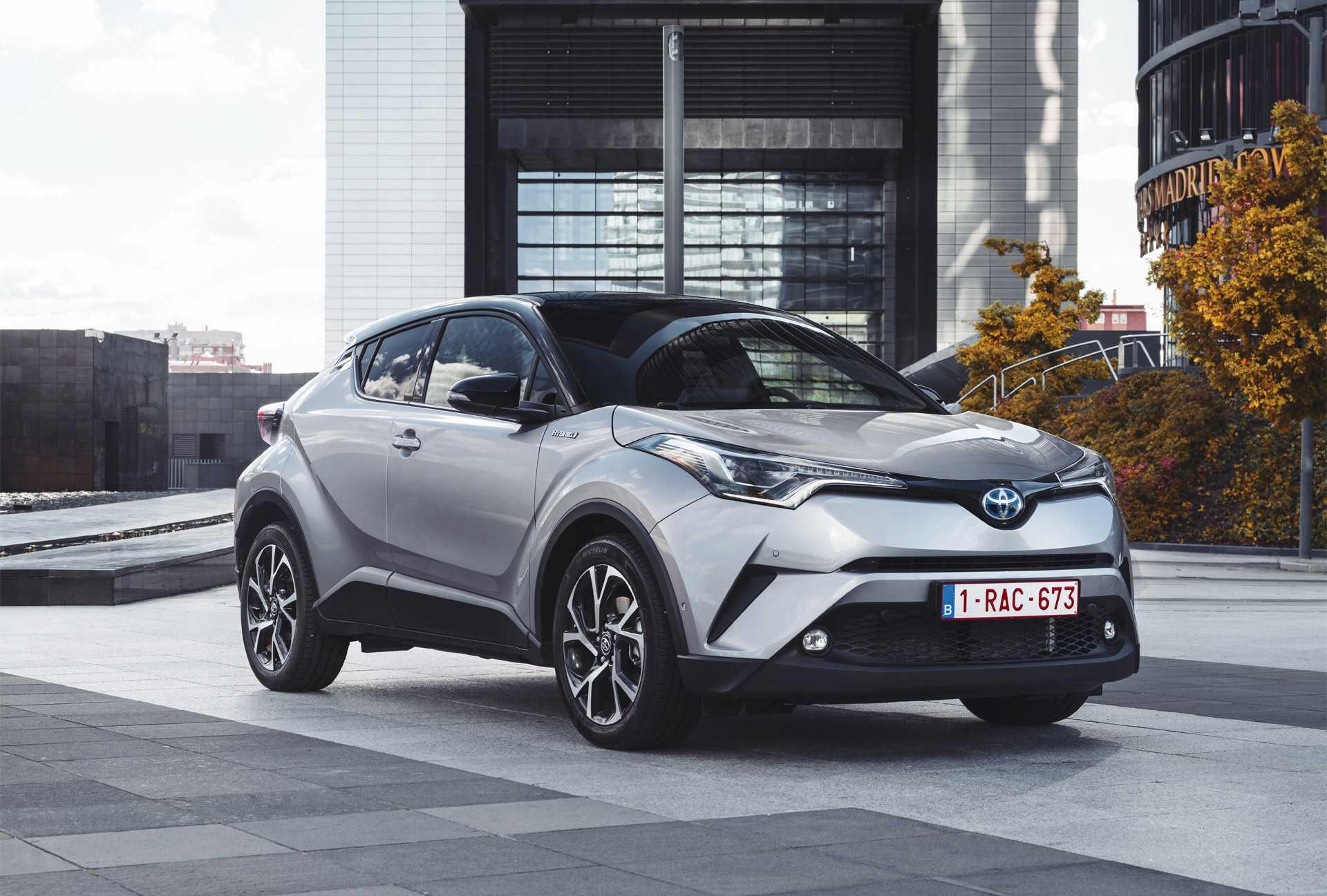 Toyota c-hr 2016, 2017, 2018, 2019, джип/suv 5 дв., 1 поколение технические характеристики и комплектации