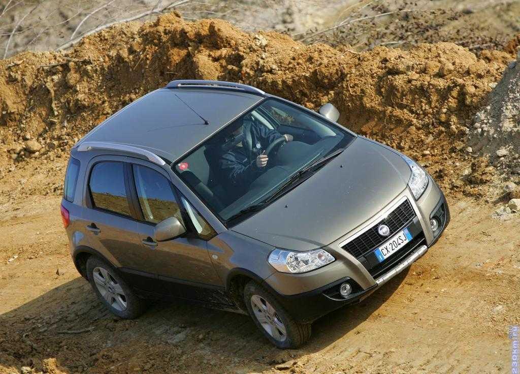 Fiat sedici обзор автомобиля, модельный ряд, тест драйв