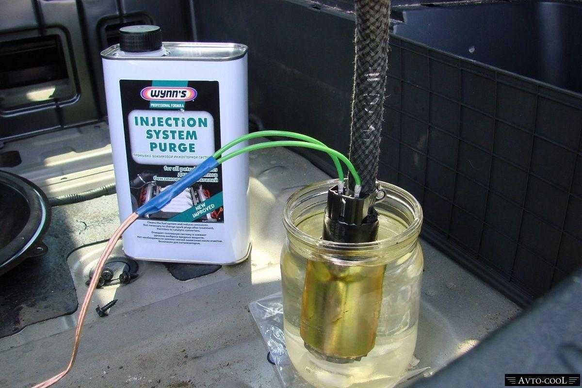 Очистители топливной системы— тест 4-х очистители топливной системыбензинового двигателя— журнал зарулем