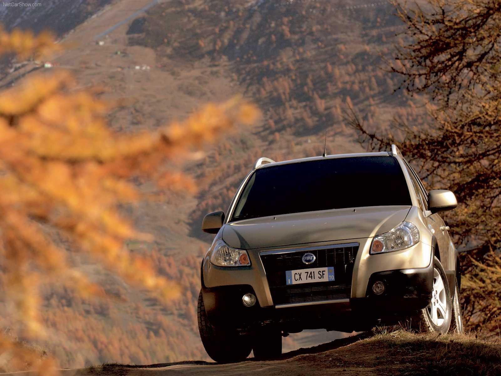 Fiat sedici обзор автомобиля, характеристики