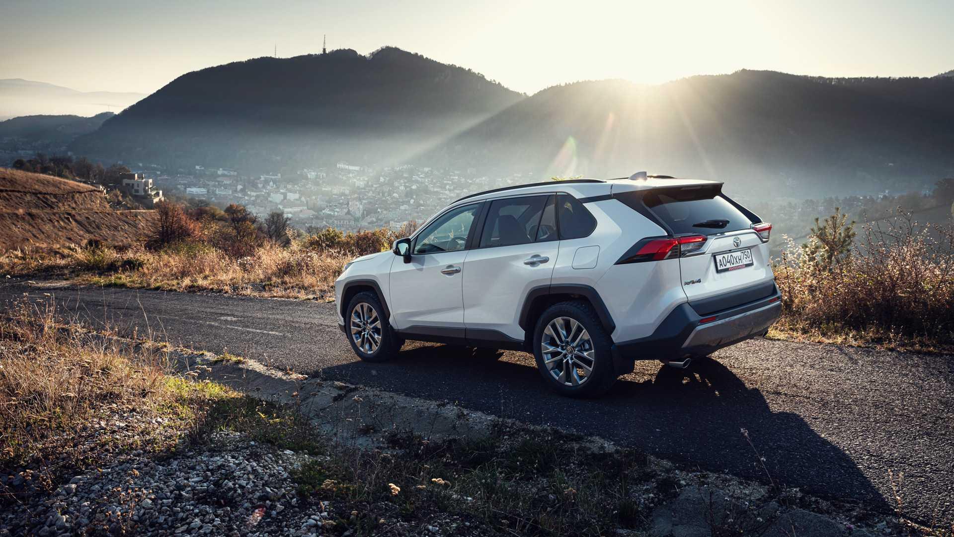 Toyota rav4 - major auto - официальный дилер