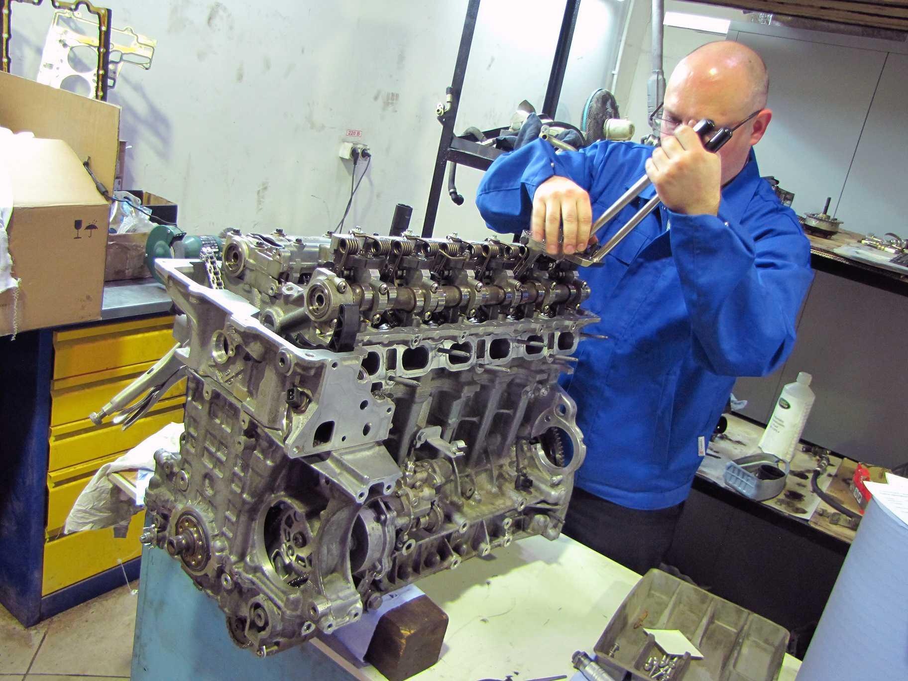 Текущий и капитальный ремонт двигателей