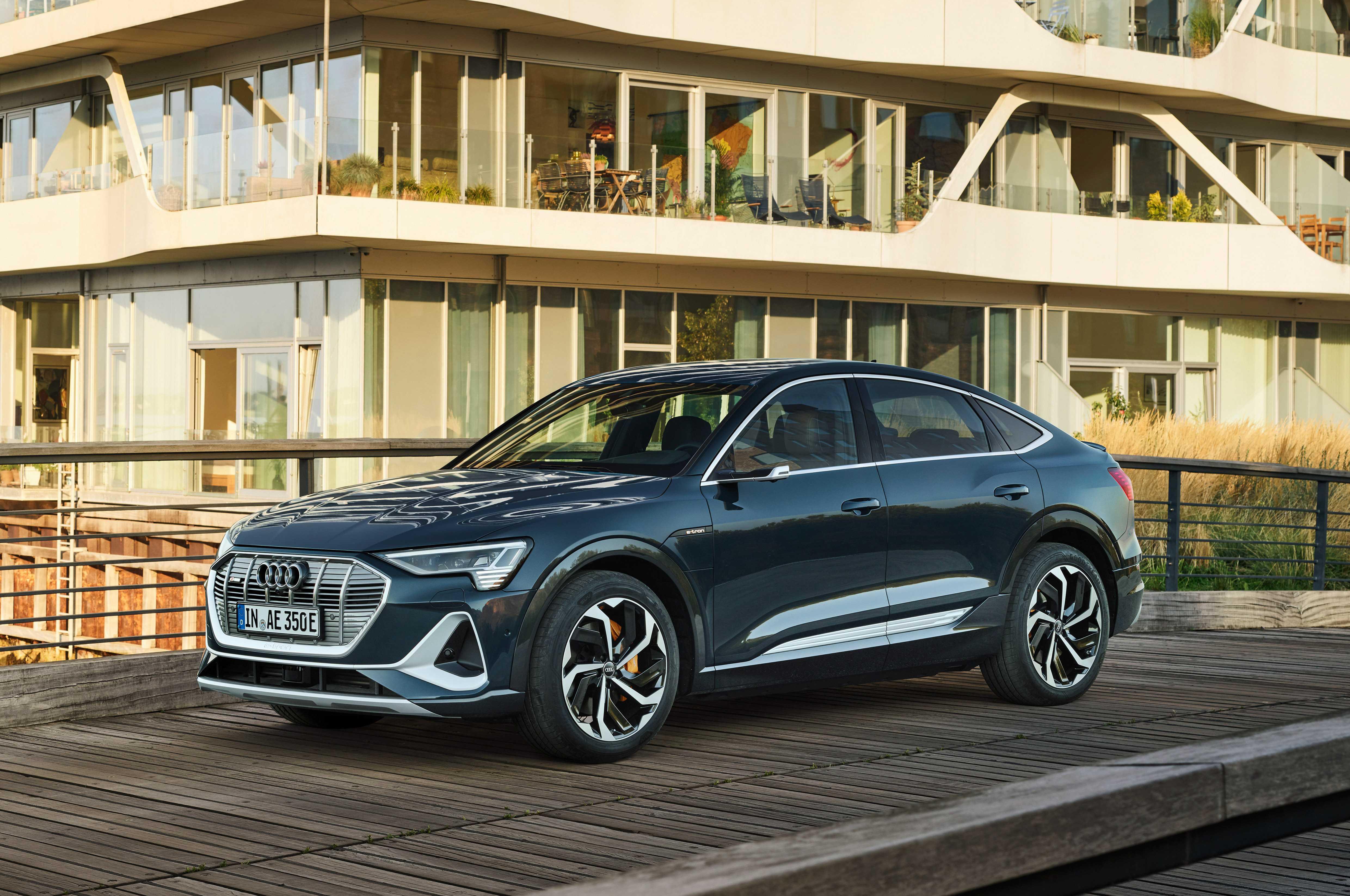 Audi e-tron sportback представлен в лос-анджелесе