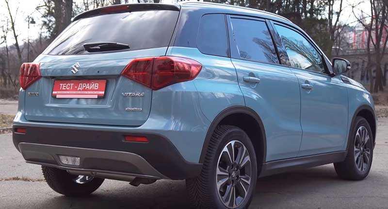 Suzuki vitara рестайлинг 2018, 2019, 2020, 2021, джип/suv 5 дв., 4 поколение, p90 технические характеристики и комплектации