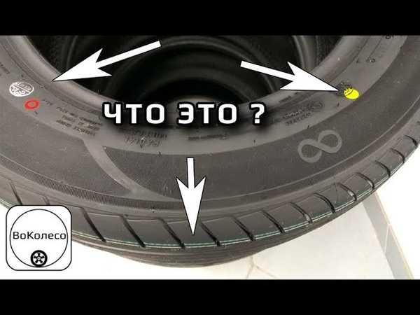 Что означают точки на шинах?