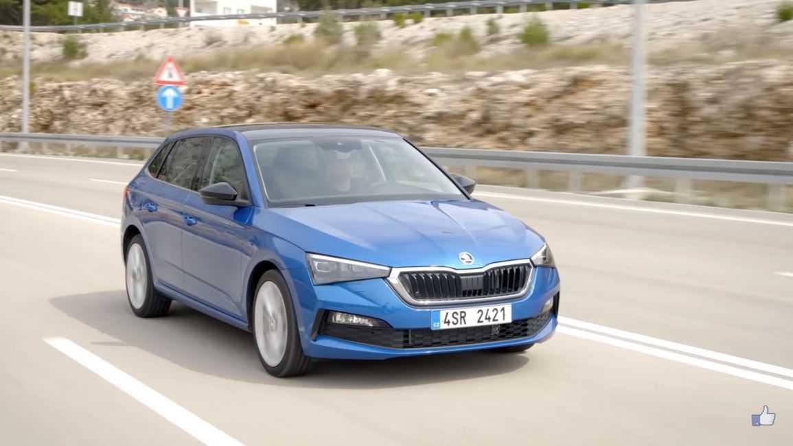 Новая Skoda Scala - это первая модель автомобиля в ассортименте чешского автопроизводителя созданная на базе платформы MQB A0 от Volkswagen Group которую она будет делить с Volkswagen Polo