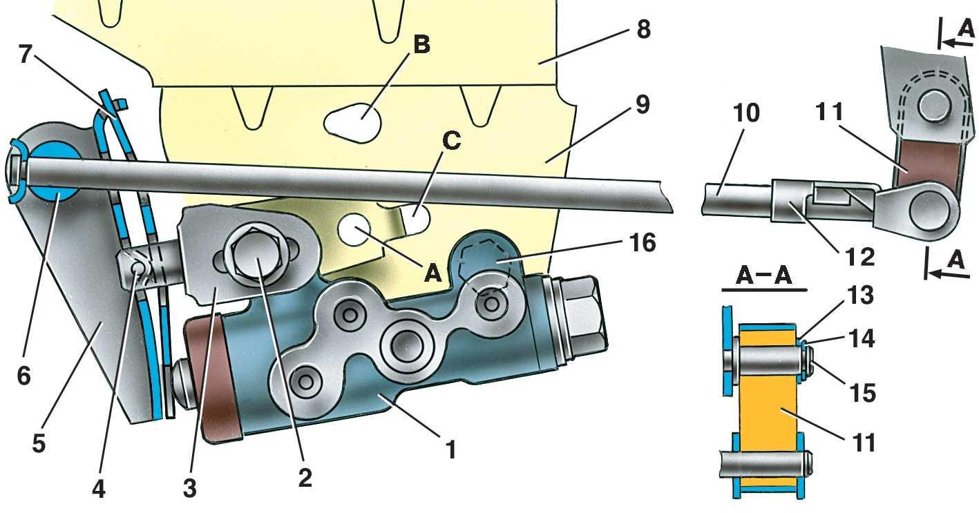 Устройство тормозной системы ВАЗ 2110 схема принцип работы диагностика обслуживание