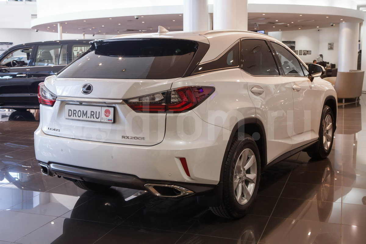 Lexus rx200t 2.0t at awd executive (11.2015 - 10.2016) - технические характеристики