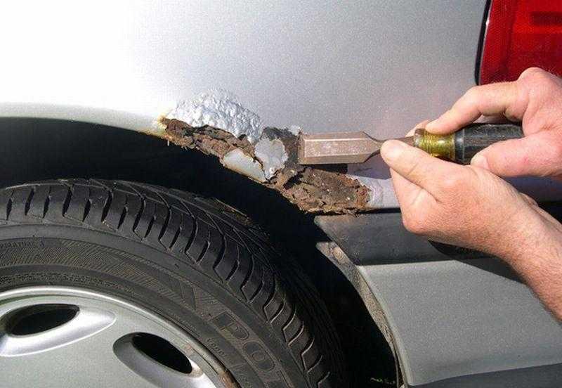 Как быстро удалить ржавчину с кузова авто своими руками