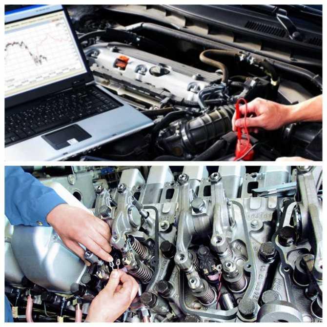 Техническое обслуживание двигателей внутреннего сгорания