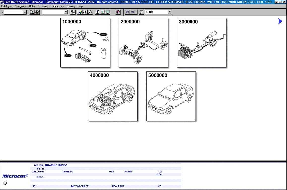 Каталог запчастей Ford это уникальная база деталей для автомобилей Ford В ее основу легли запасные детали для автомобилей Форд выпущенных для стран