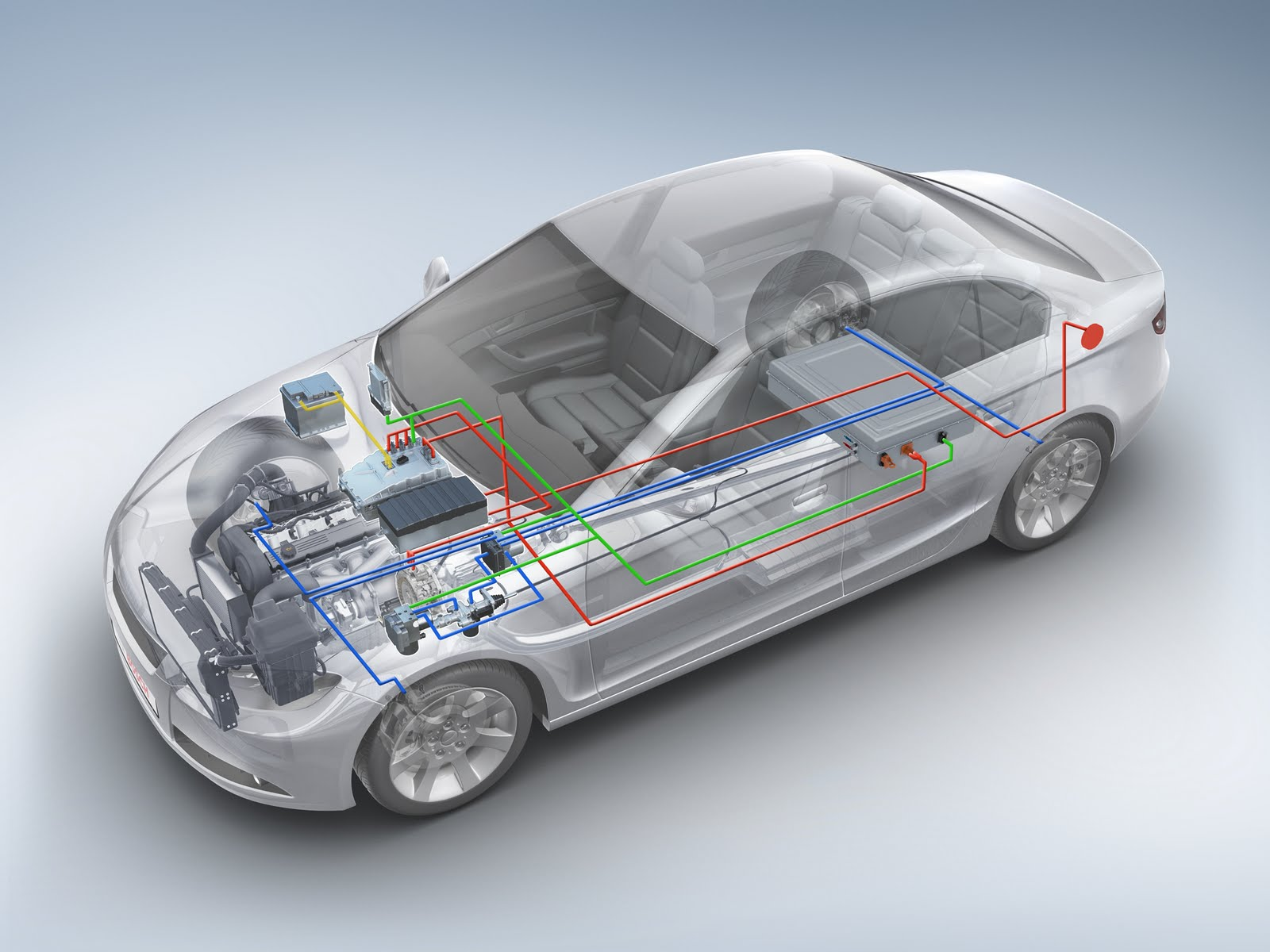 Устройство гибридного автомобиля