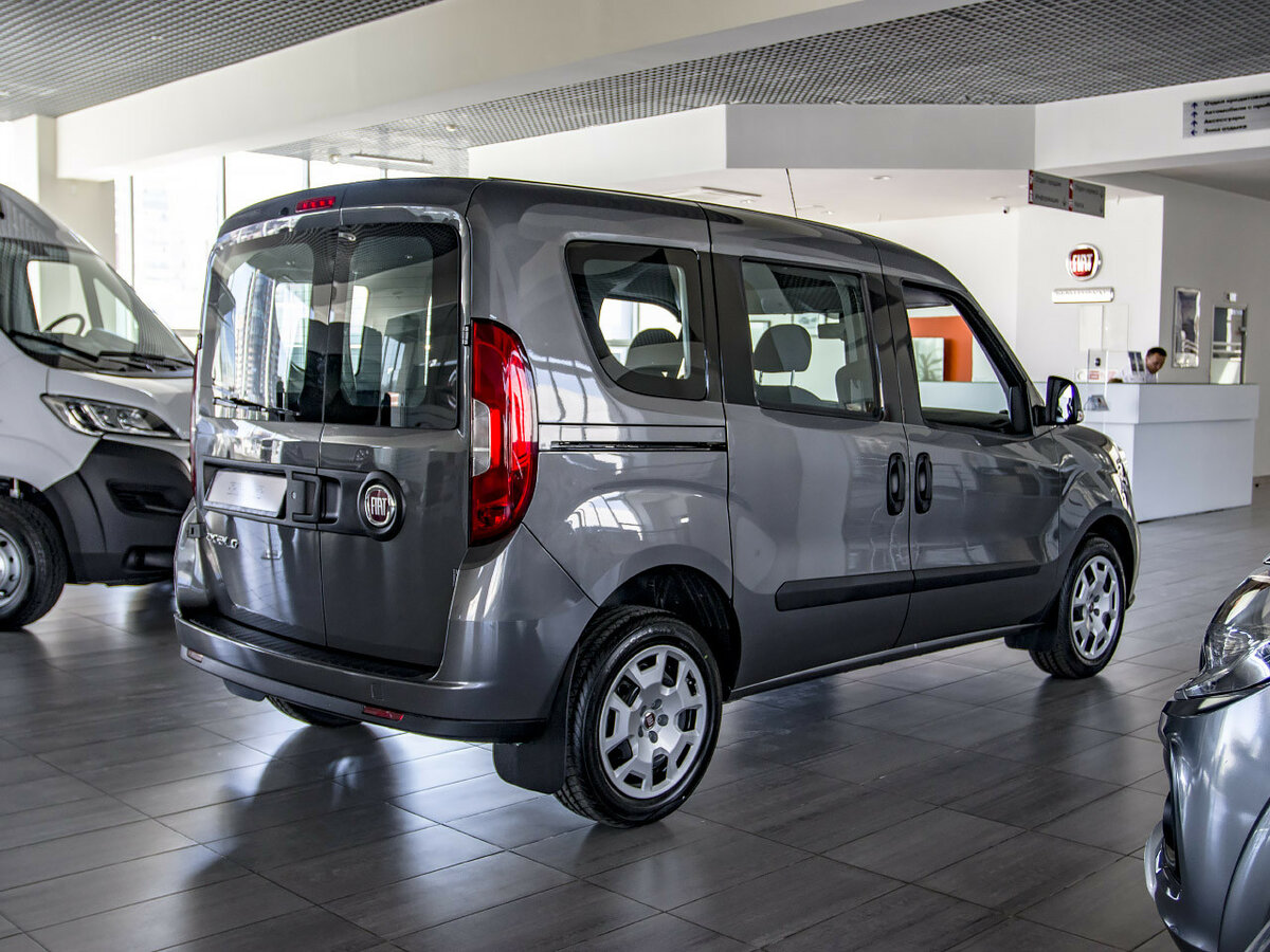 Fiat Doblo Panorama комплектация двигатель салон багажник трансмиссия ходовая тонкости