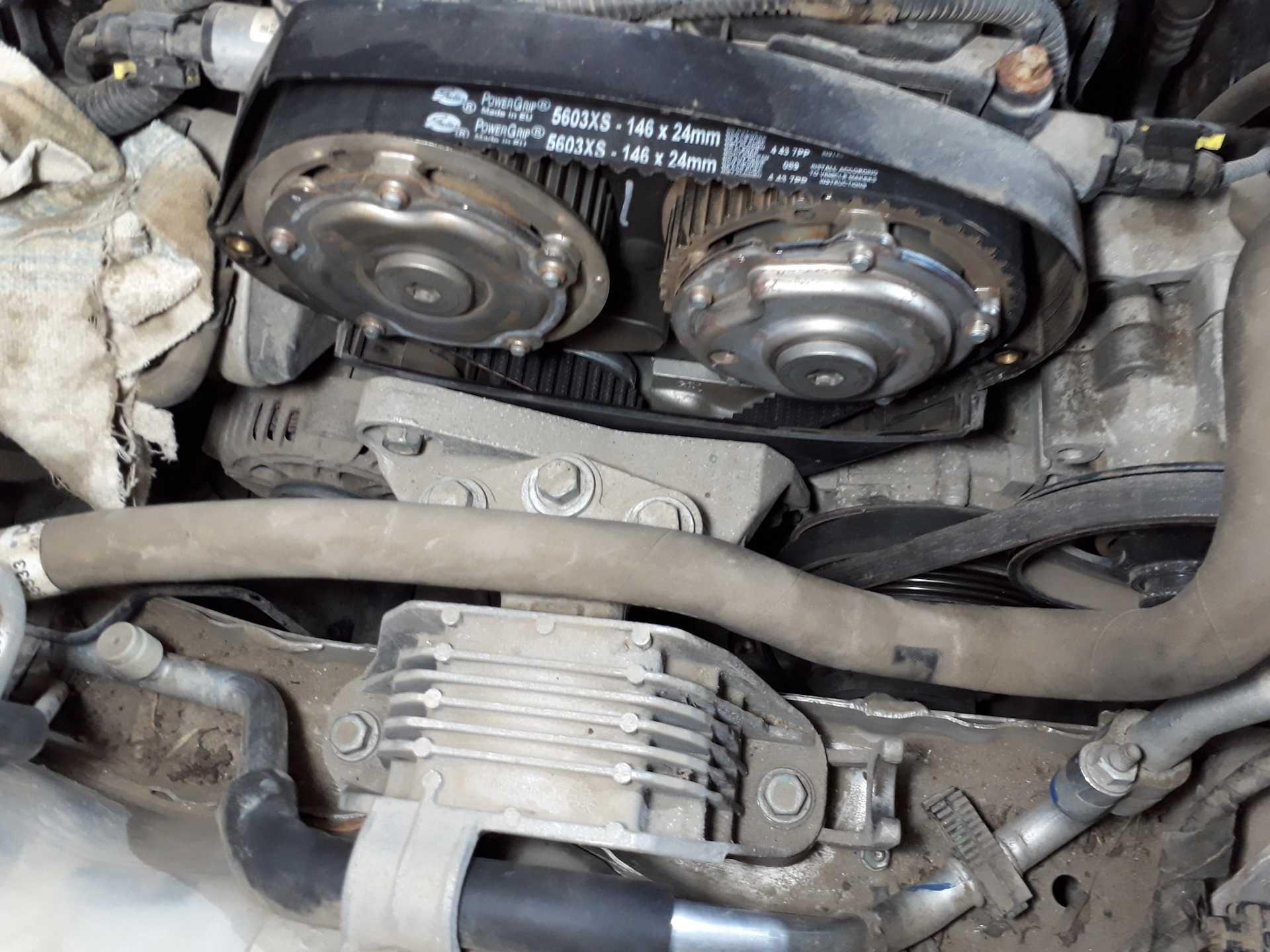 Сколько ремней в двигателе шевроле круз