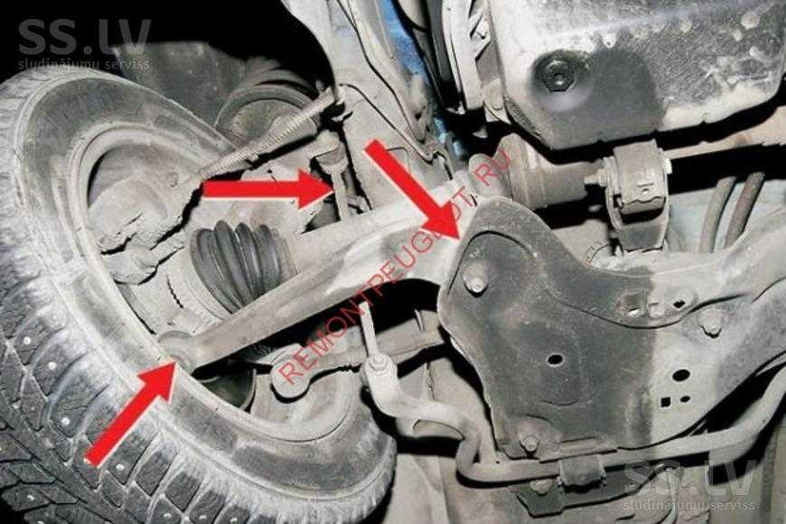 Стук в задней подвеске: причины и устранение   авточас