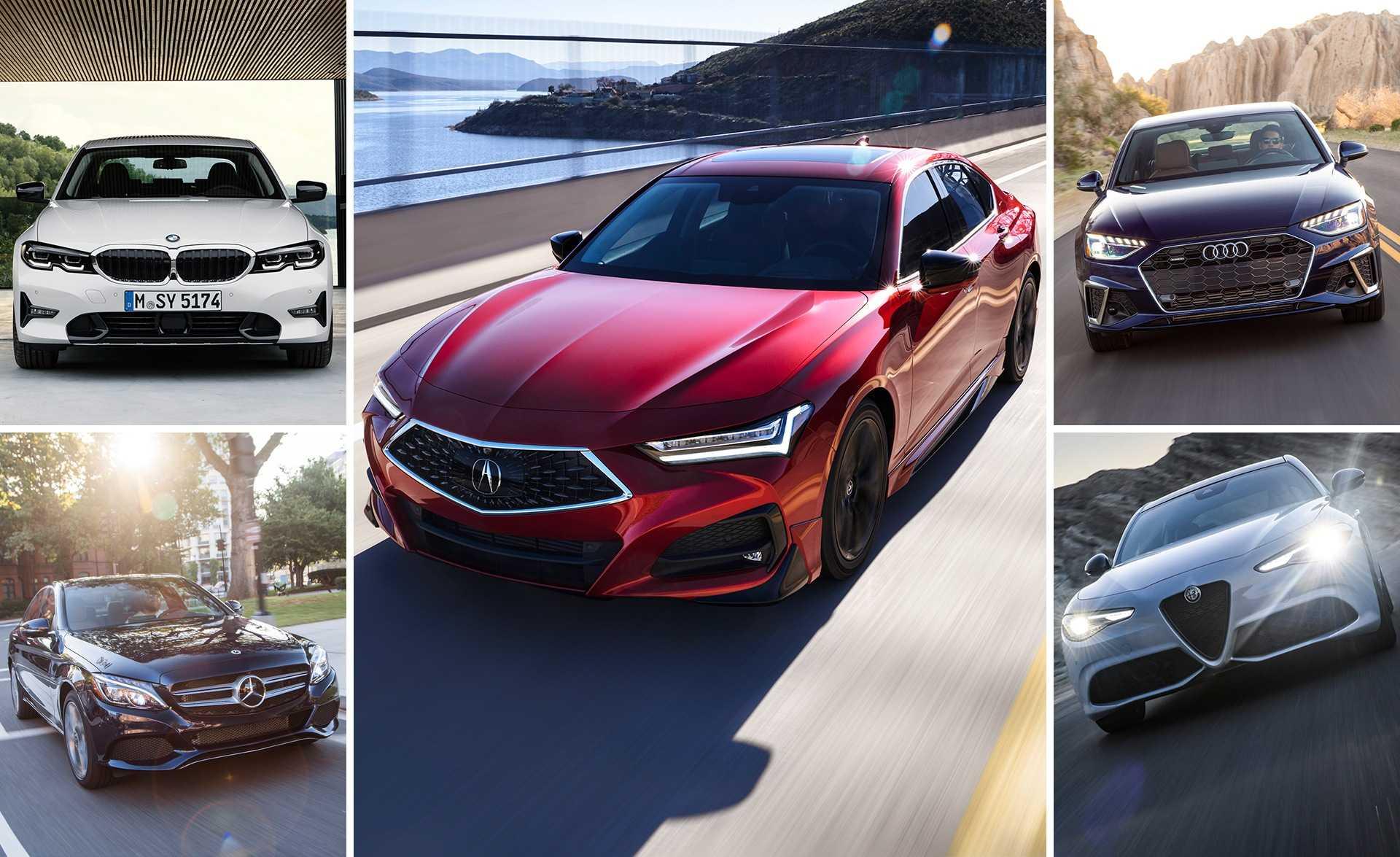 Acura tlx 2021 года будет стоить 38,525 xnumx долларов и появится у дилеров этой осенью
