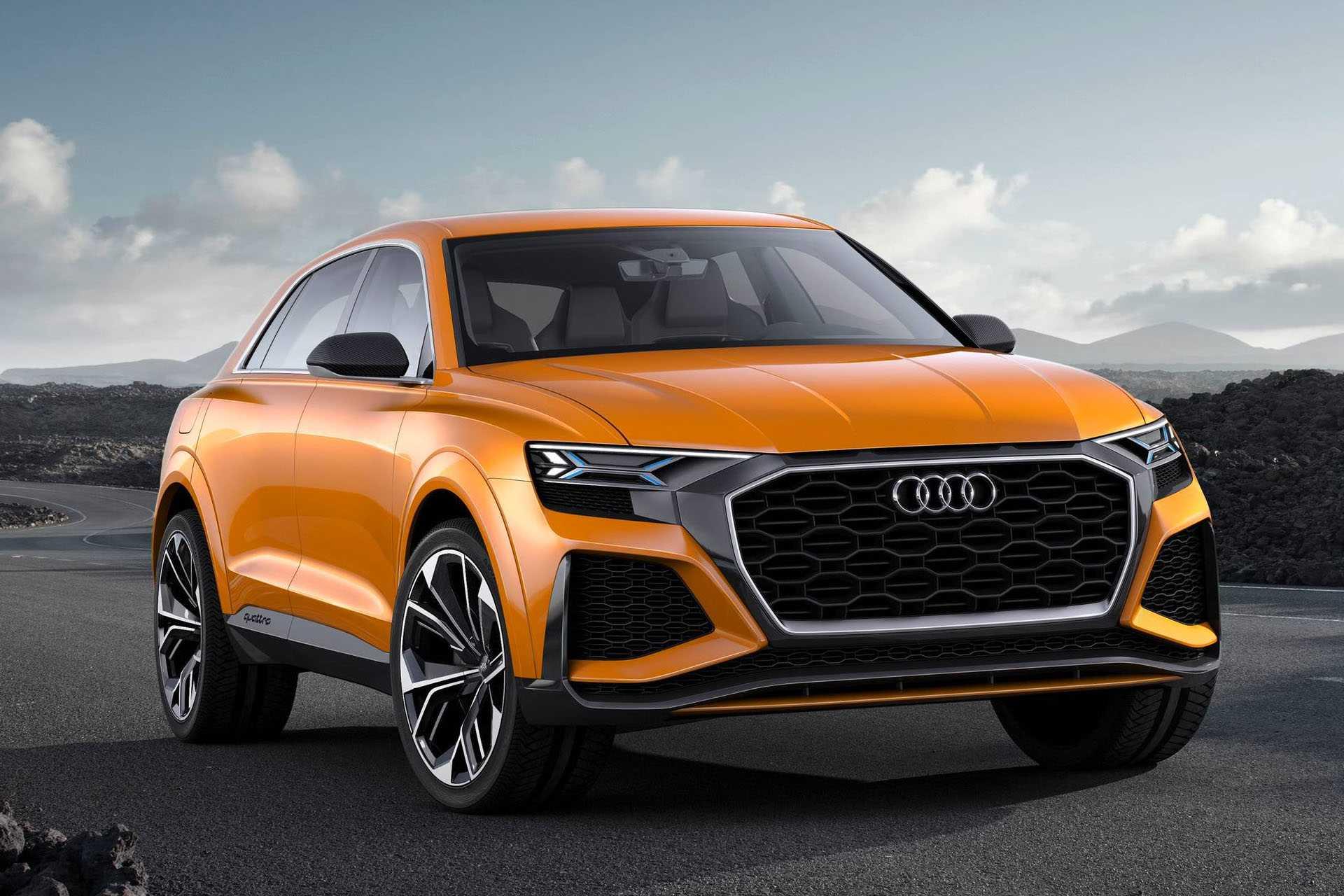 Audi rs q8 2020— заряженный кроссовер с мотором на 600 лс