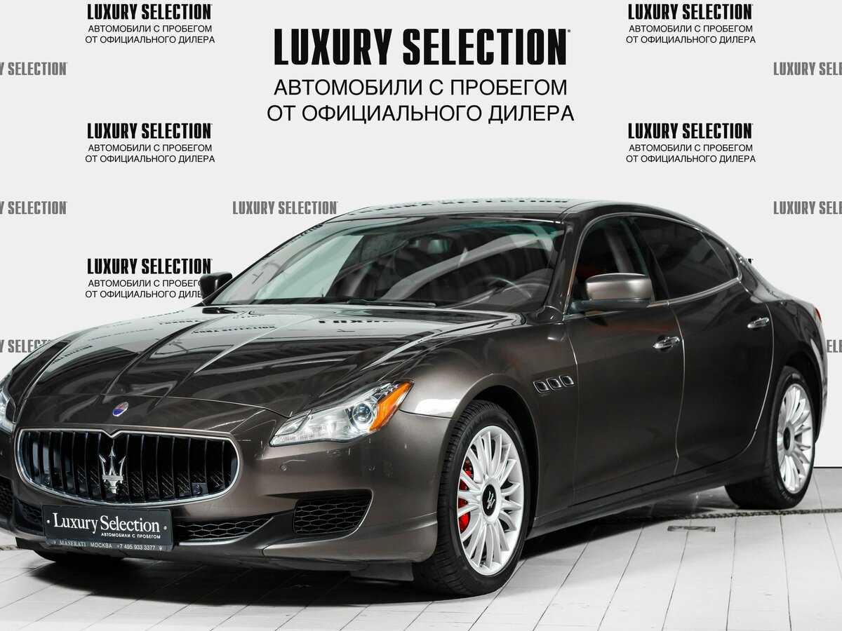 Maserati quattroporte 3.0 at s q4 (02.2018 - н.в.) - технические характеристики
