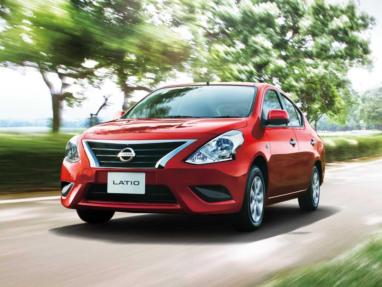 Nissan представил вяпонии новую модель latio