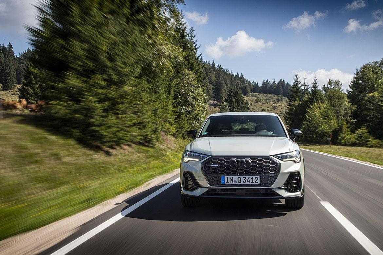 Audi q3 sportback 2020 скоро в россии! фото, цена, комплектации и видео