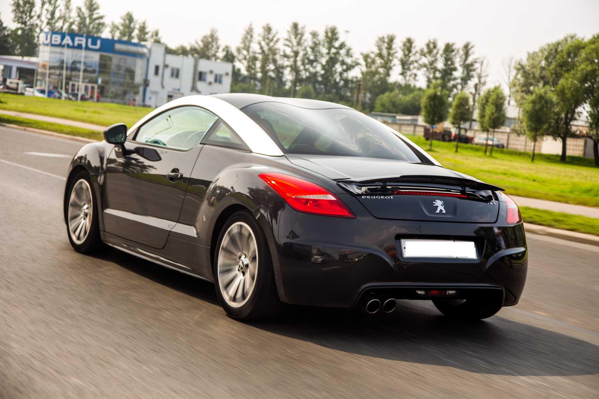 Начало производства Peugeot RCZ комплектации и характеристики автомобиля отзывы владельцев фото видео