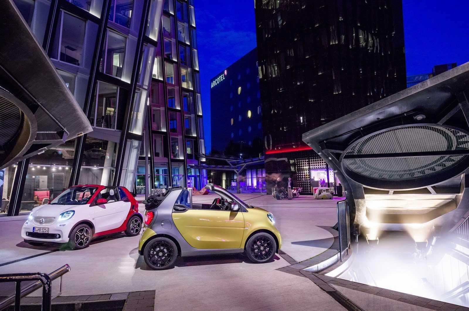 Smart продемонстрировал fortwo cabrio  - «автоновости» » авто - новости