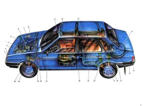 Ваз 2108 / ваз 2109 / ваз 21099. руководство по ремонту и эксплуатации в цветных фотографиях.