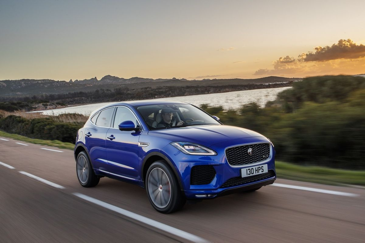 Ягуар е-пэйс 2019 технические характеристики. jaguar e-pace 2019 комплектации и цены фото.