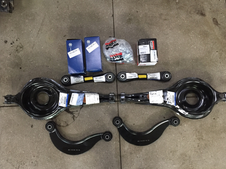 Замена сайлентблоков передних рычагов форд фокус 2: задняя подвеска фф2