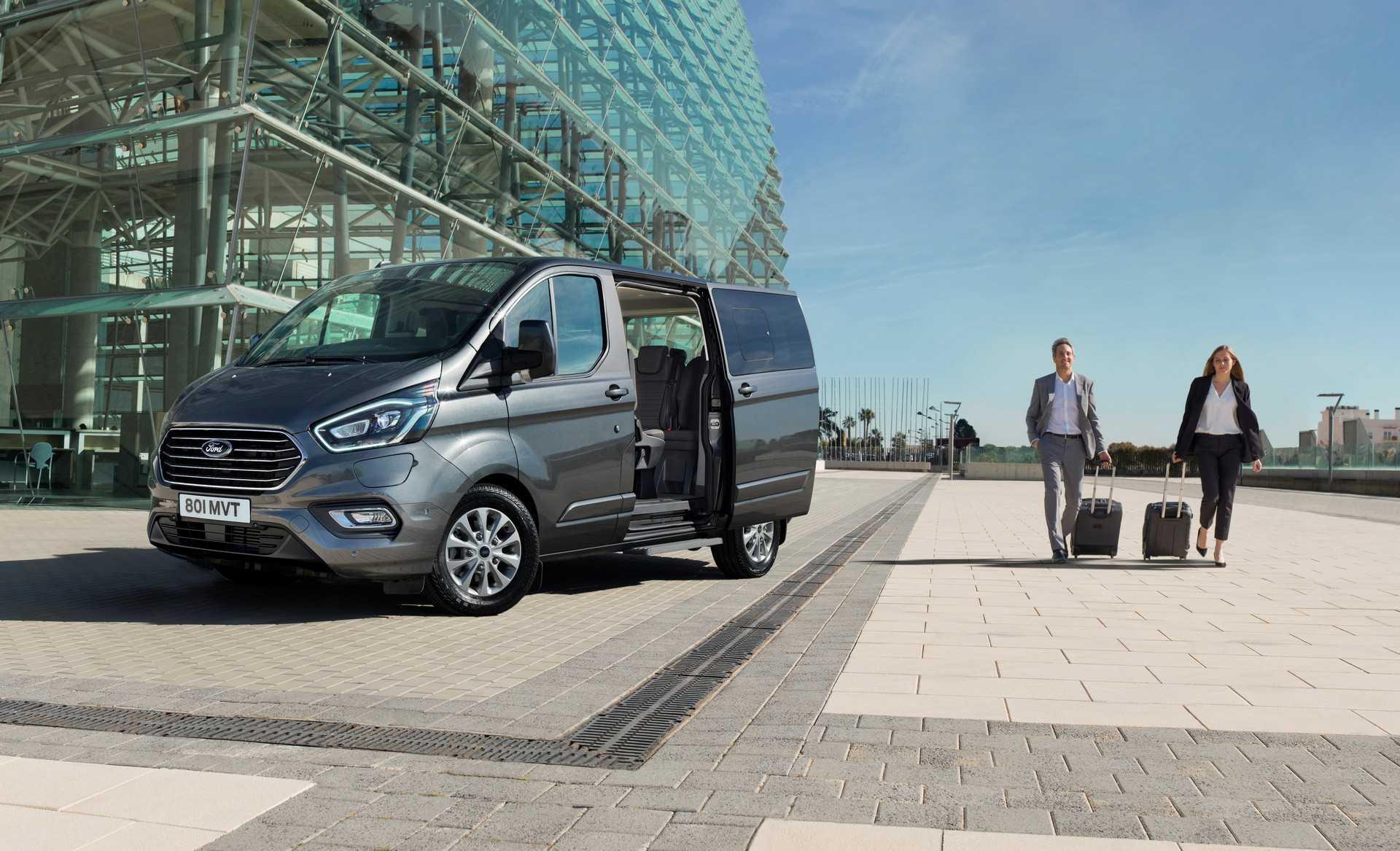 В сша представили электрический ford e-transit с запасом хода 200 км