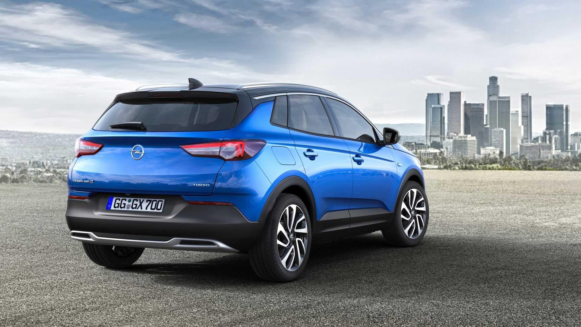 Opel grandland x hybrid4 2020 — гибридная версия популярного кроссовера