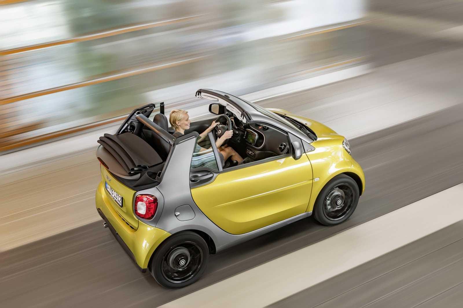 Smart fortwo cabrio привезут во франкфурт - «автоновости» » авто - новости